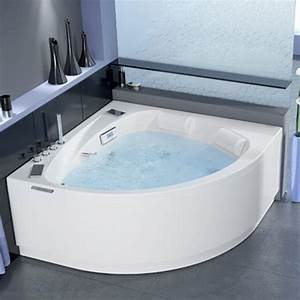 Grande Baignoire D Angle : baignoire choisir la bonne forme marie claire ~ Edinachiropracticcenter.com Idées de Décoration