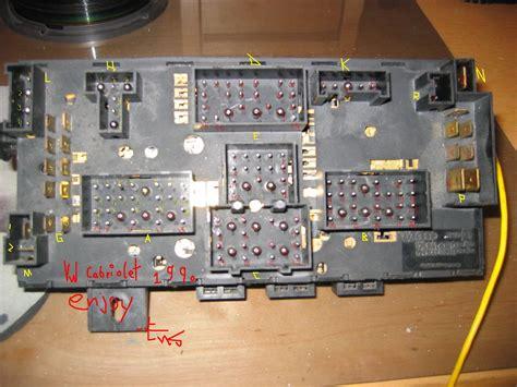 vwvortexcom  euro spec fuse box diagram
