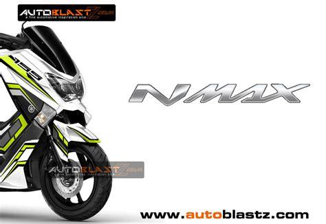 Striping Nmax Putih Minimalis by Grafis Inspirasi Modif Striping Yamaha Nmax White Green