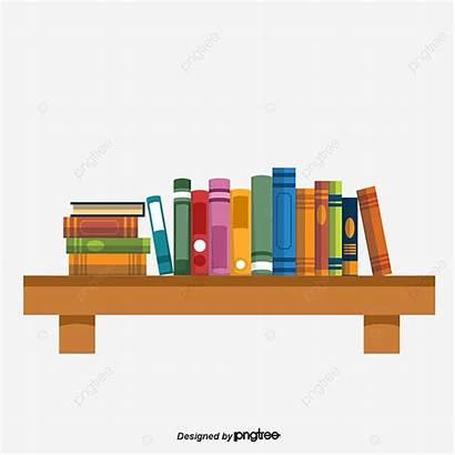 Bookshelf Cartoon Shelves Put Clipart Pngtree Estante