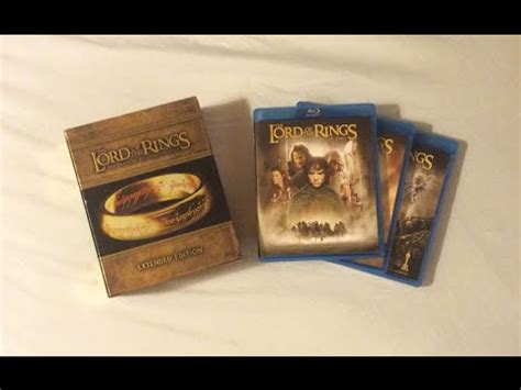 The Lord Of The Rings Extended Edition Trilogy (20012003
