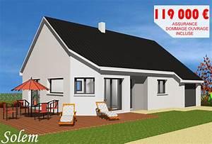 CONSTRUCTEUR MAISONS INDIVIDUELLES 76 HAUTE NORMANDIE MODELE SOLEM Constructeur de maison Dieppe