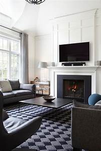 Bold, And, Glamorous, How, To, Style, Around, A, Black, Coffee, Table