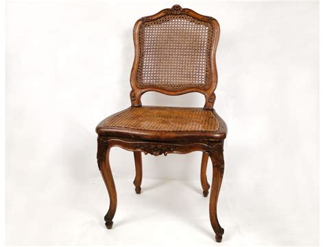 chaises louis xv cannées chair carved walnut louis xv sted f leroy xviii