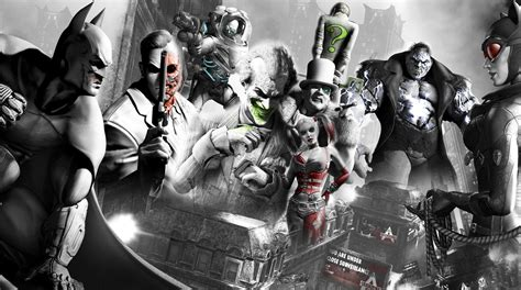 Arkham City Wallpaper And Background Image