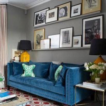 small kitchen decorating ideas for apartment photos canapé velours bleu