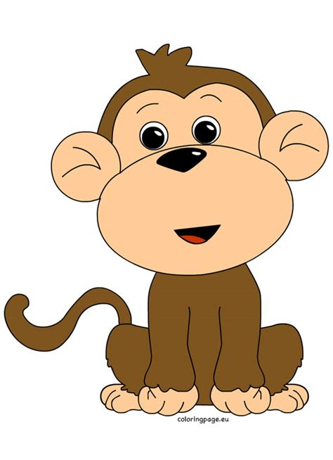 clipart of monkeys monkey clipart clipground