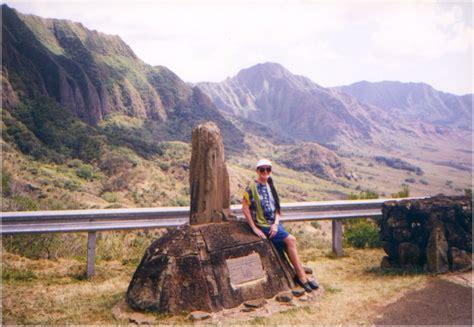 waianae coast  kolekole pass