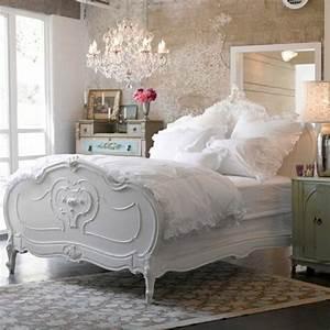 Meuble Shabby Chic : chambre coucher style shabby chic accueil design et mobilier ~ Teatrodelosmanantiales.com Idées de Décoration
