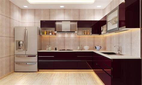 amazing latest modular kitchen designs  shaped modern