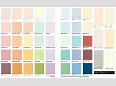 Accent Paint Colour Chart Design Decoration