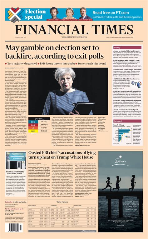 Financial Times website (2017) - Fonts In Use