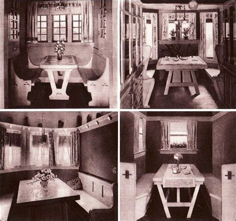 pin  peter gabriel  kitchens breakfast nook retro