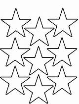 Coloring Star Stars Pages Printable Drawing Shape Christmas Template Nine Nativity Nice Templates Multi Stencil Cool Stencils Getdrawings Moon Getcolorings sketch template
