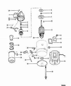 Starter Motor Assembly For Mercruiser  165 Hp   170
