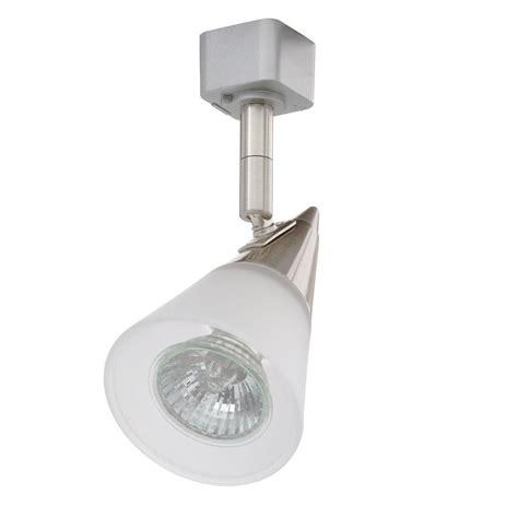 juno track lighting juno glass cone gu10 satin chrome track lighting r716