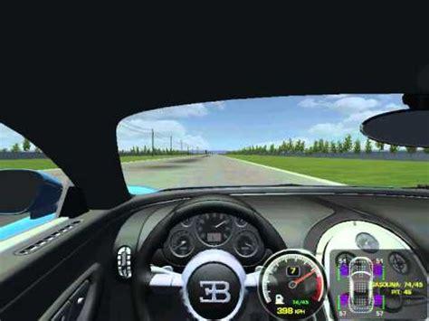 Bugatti Test Track by Rfactor Bugatti Veyron S Speed Test