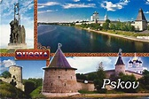A Journey of Postcards: Hanseatic city of Pskov   Russia