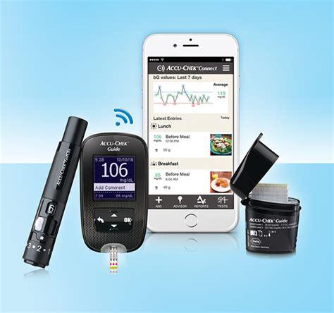 roches creative  accu chek guide glucose meter