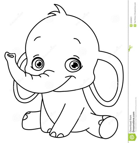 13 Baby Elephant Coloring Page To Print Print Color Craft