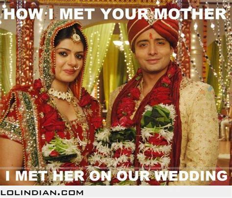 india couple marriage arranged indian married wedding marriages memes forced divya siddharth met mother foreign society which system hindu meme