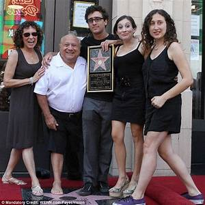 Danny DeVito walks arm-in-arm with mini-me daughter Lucy ...