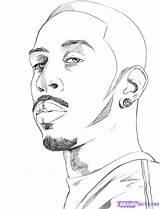 Draw Ludacris Step Drawing Dragoart Sketch Steps Music Imgs Should sketch template