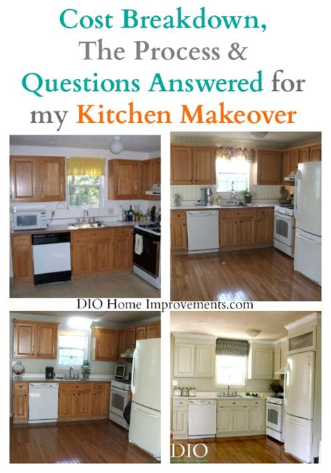 the evolution of my kitchen makeover dio home improvements