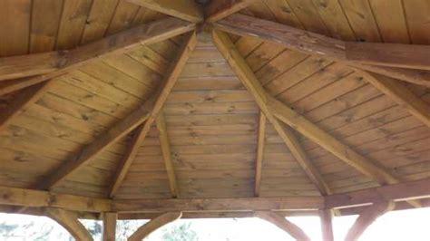 gazebo esagonale in legno dettagli prodotto