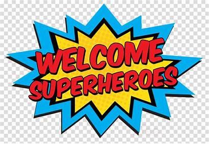 Superhero Clipart Clip Transparent Banner Party Diy