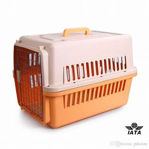 2017 dog travel carrier plastic carrier iata airline With cheap dog travel crates