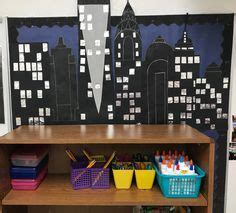 york skyline ideas  classroom display classroom