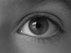 Black and White Eye by 666squirrelOFdeath on deviantART