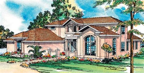 House Plan 69345 Southwest Style with 2607 Sq Ft 3 Bed