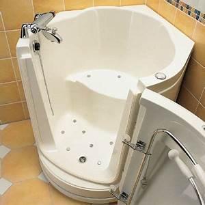 Sitzbadewanne Mit Dusche : die seniorenbadewanne mit t r ~ Frokenaadalensverden.com Haus und Dekorationen