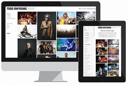 Website Photoshelter Websites Brand Powerful Building Custom