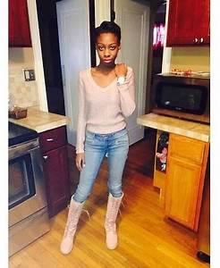 Tyra D. Sadler - Timberland Knee High Pink Timberlands - Can I bring these Timbs back or nah ...