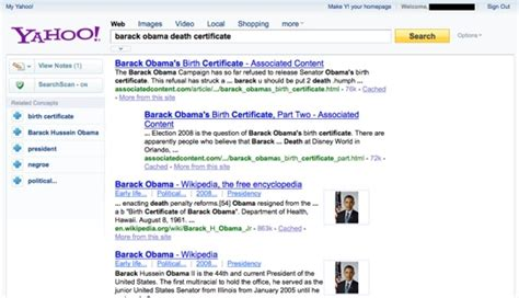 Yahoo Testing New Search Results Layout