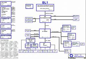 Toshiba Satellite L30 Laptop Schematic Diagram Bl1