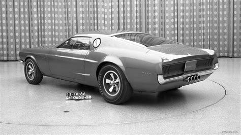 1966 Ford Mustang Mach I Concept Rear Hd Wallpaper 8