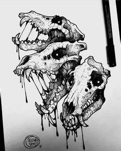 Evil Skull Drawing Ideas Pinterest Art