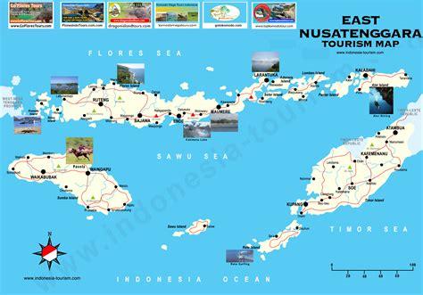 east nusa tenggara map peta nusa tenggara timur east