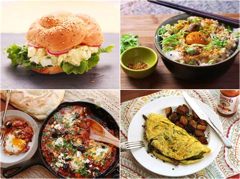 egg dishes for dinner breakfast all day 22 egg recipes that make great dinners