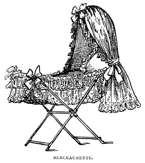victorian baby bassinet  design shop blog