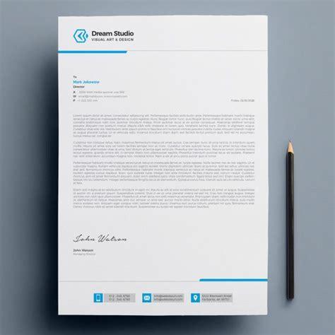 modern company letterhead company letterhead company