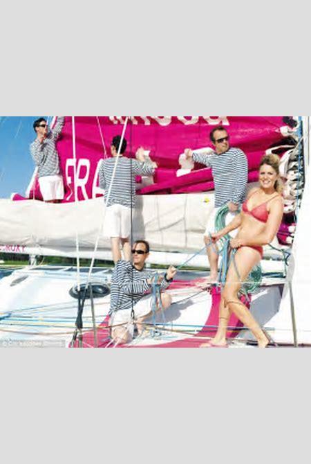 Lone yachtswoman Samantha Davies: 'Sometimes I sail naked' | Daily Mail Online