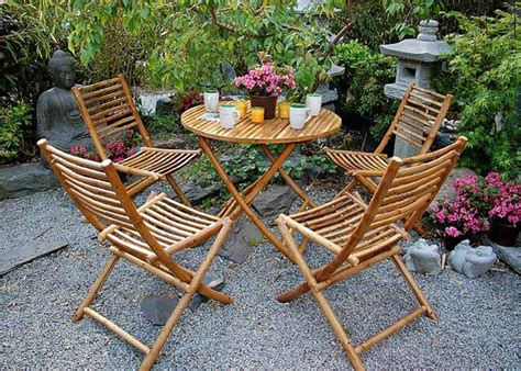 Mit Bambusmöbeln Garten Und Terrasse Aufwerten