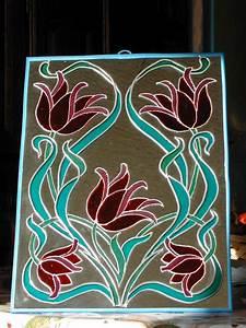 Peinture Argentée Spéciale Miroir : miroir peinture sur verre album photos mes passions ~ Dailycaller-alerts.com Idées de Décoration