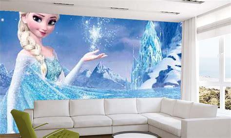 frozen elsa wallpaper childrens wall murals wallpaper ink