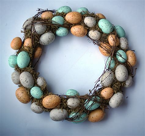 knock  craft store easter wreath